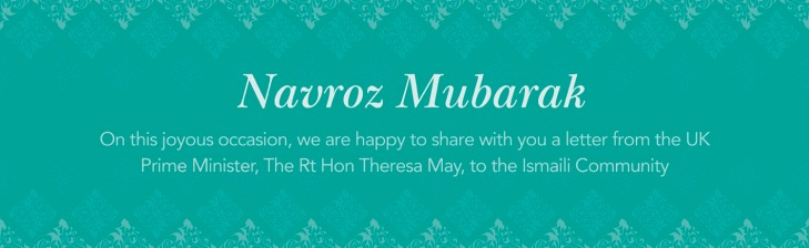 UK Prime Minister Theresa May Sends Novroz Greetings