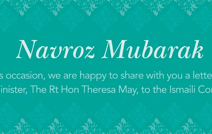 UK Prime Minister Theresa May Sends Novroz Greetings