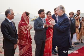 Mawlana Hazar Imam departs India | the.Ismaili
