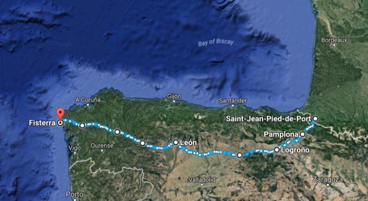 Tour de Faisal: Camino de Santiago: Introduction & Stats