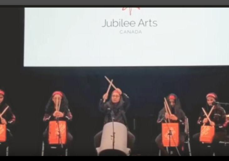 Jubilee Arts Canada: The Storm-Bucket Troop