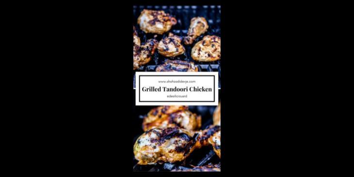 Desi-licious Recipe: Grilled Tandoori Chicken - Gluten Free, High Protein, Low Carb