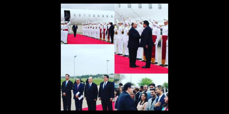 Texas Secretary of State Welcomes His Highness the Aga Khan