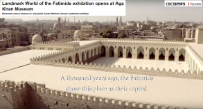 CBC News Toronto: Landmark World of the Fatimids exhibition opens at Aga Khan Museum