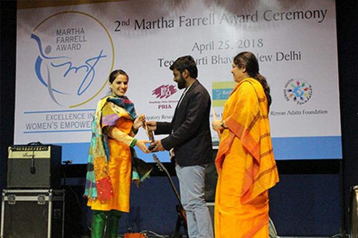 The Winners of the 2nd Martha Farrell Award Announced
