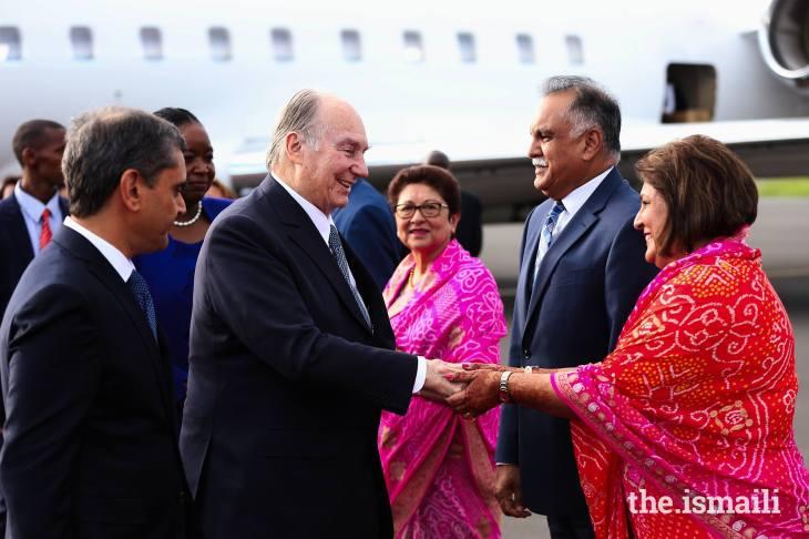 His Highness the Aga Khan in Nairobi, Kenyafor Diamond Jubilee