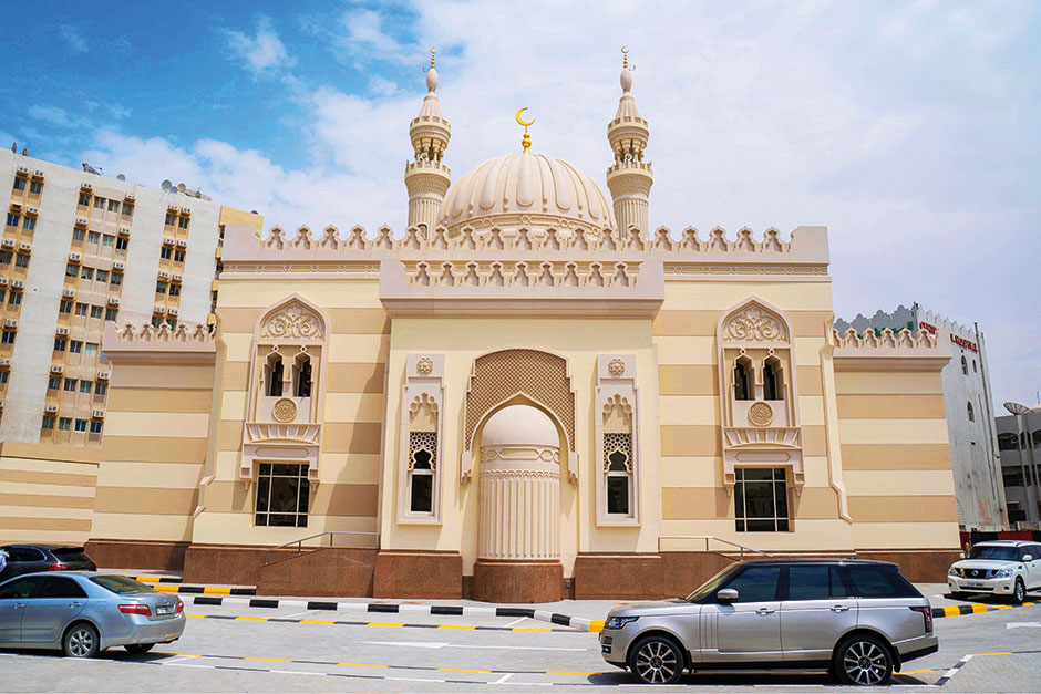 New Fatima Al Zahra Mosque, built with Fatimid era stone design, inaugurated in Sharjah