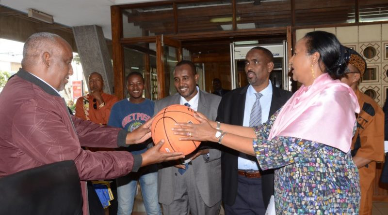 Aga Khan Foundation and European Union donate sports equipment worth Shs 10 Million