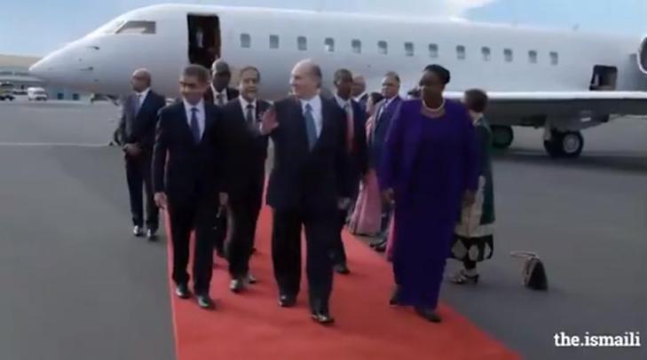 Video: His Highness the Aga Khan in Nairobi, Kenya for Diamond Jubilee