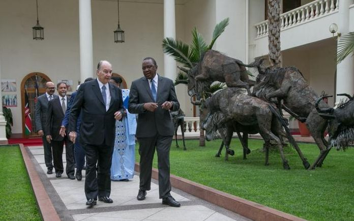 "President Uhuru and The Aga Khan announce new project for Nairobi residents: ""Green Jewel of Nairobi"" - Restoration of Nairobi City Park"