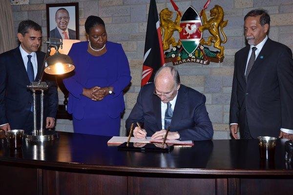 The Aga Khan visits Kenya   Daily Nation
