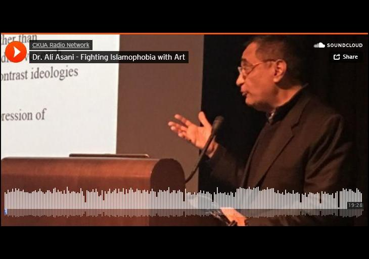 Dr. Ali Asani - Fighting Islamophobia with Art