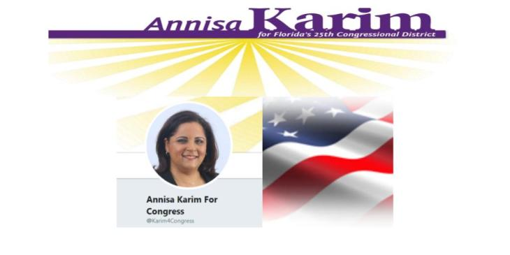 Annisa Karim running for US Congress
