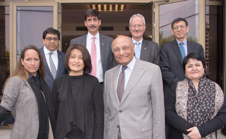 Princess Zahra Aga Khan and Board of Trustee visit University of Central Asia