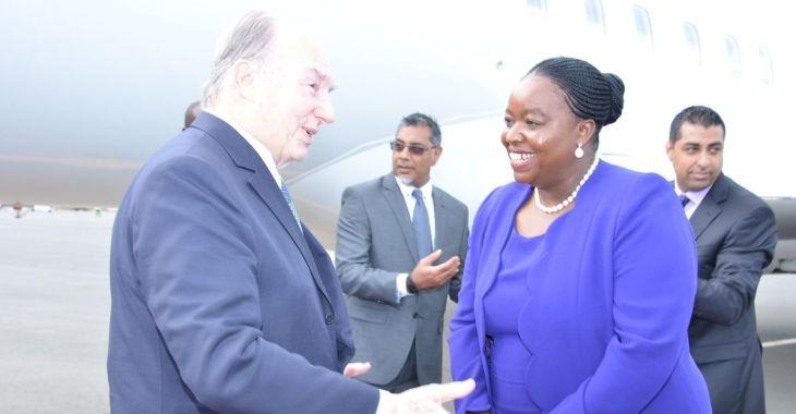 Kenya: Cabinet Secretary, Ambassador Monica Juma receives His Highness the Aga Khan