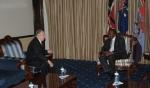 Kenya: President Kenyatta welcomes Aga Khan at State House
