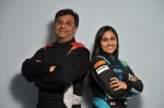 Father and daughter race drivers, Aziz and Nabila Tejpar, face off in rally