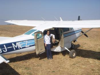 Travelling from Lusaka to Choma, Zambia to initiate the RIFAQUIN Trial, August, 2006.