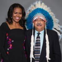 "The Ismaili ""chief"" meets Mrs. Obama"
