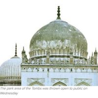 Qutb Shahi Tombs will be major draw now | Times of India