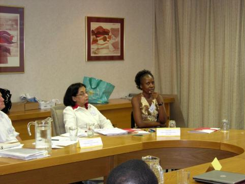 Attending a Seminar on tuberculosis in Durban, South Africa in 2016