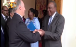 His Highness the Aga Khan holds meeting with President Kenyatta (Video)