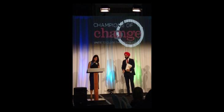 Zainul Mawji receives Trailblazer award for Women in Communications and Technology
