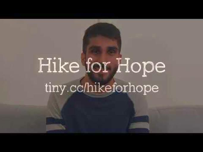 Aqil Rashid: Hike for Hope's fundraising page for Pencils of Promise