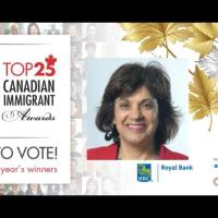 Zulie Sachedina nominated for the RBC Top 25 Canadian Immigrant Awards