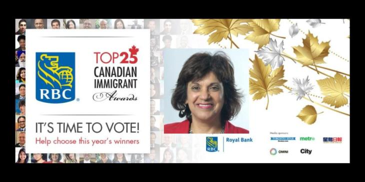 Zulie Sachedina nominated for for the Canadian Immigrant Awards! (Vote & Support)