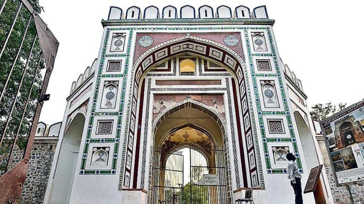 Aga Khan Trust for Culture restores Mughal-era 'Arab ki Sarai gateway' to its old glory in Delhi