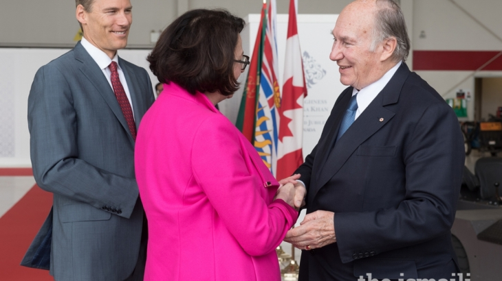 Thousands to celebrate Aga Khan over Vancouver visit
