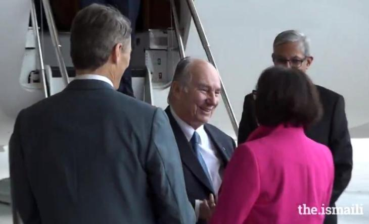 For 20,000 Ismaili Muslims, Aga Khan visit is a time to give back