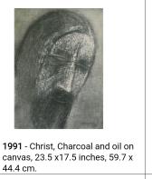 Akbar Padamsee Christ