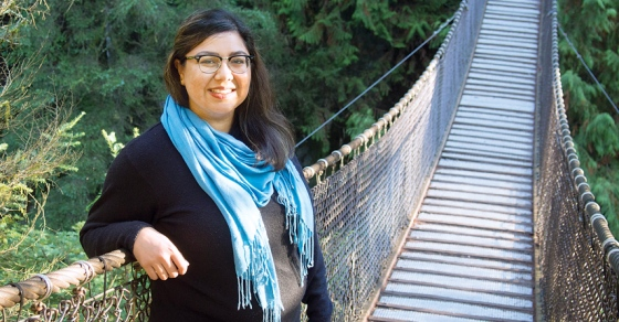 Ash Amlani, mayoral candidate in the District of North Vancouver