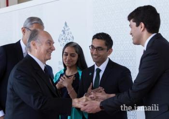 May 7, 2018 Mawlana Hazar Imam departs Vancouver, arrives in Calgary