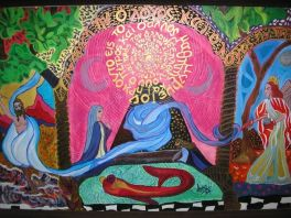 Asma Menon Acrylic on canvas