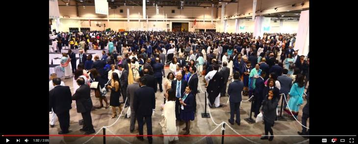 (Video) Thousands come out for Aga Khan's diamond jubilee
