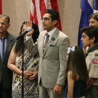 Salman Bhojani: First Muslim elected to Euless, Texas, city council sworn in