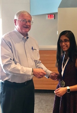 Sanya Pirani, 6th grader won first place in Glen Lake OratoricalEssay contest