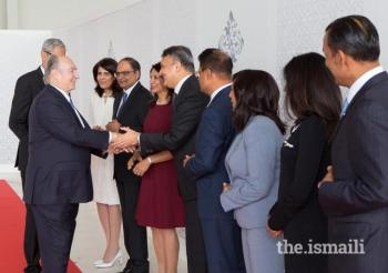 May 4, 2018: Mawlana Hazar Imam arrives in Vancouver