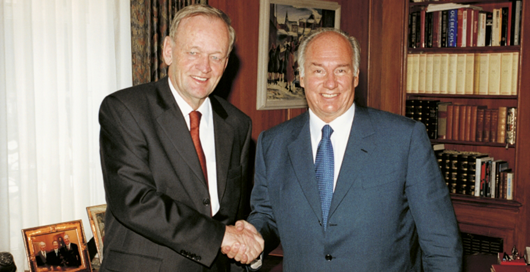 Jean Chretien: The Aga Khan's Diamond Jubilee is a celebration for all Canadians | Daily Hive Toronto