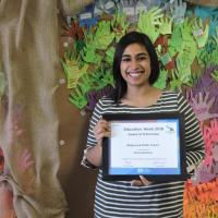 Aleeza Khamisa - Award of Distinction