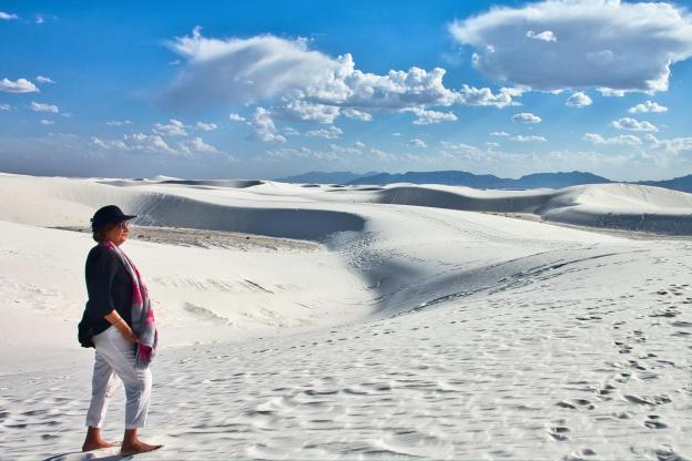 Ali Karim Travelog: Beautiful White Sands National Monument