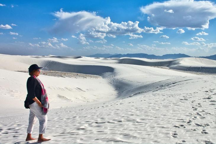 Ali Karim Travelog: Beautiful White Sands National Monument