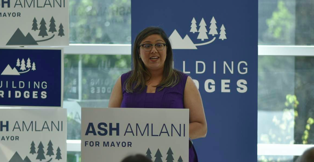 Ash Amlani: Mayoral candidate announced for new civic party in District of North Vancouver | Daily Hive