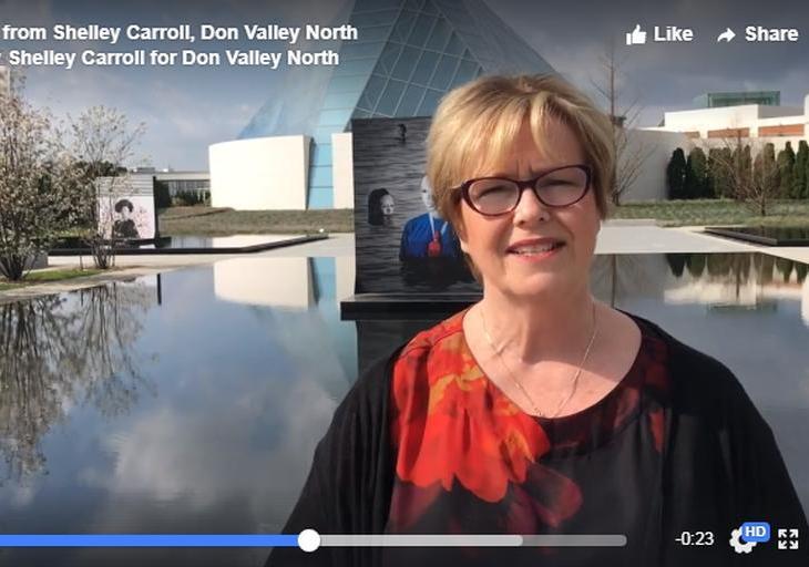 Shelley Carroll, Don Valley North, congratulates His Highness the Aga Khan