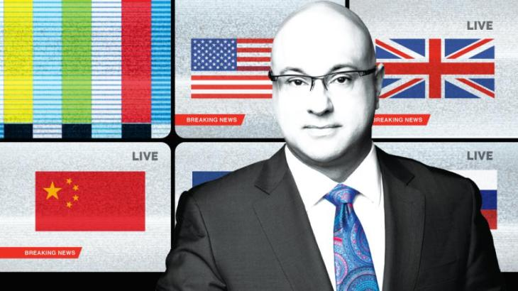 "Ali Velshi to present on ""The Weaponization of Culture"", May 16, 2018, Vancouver, BC"