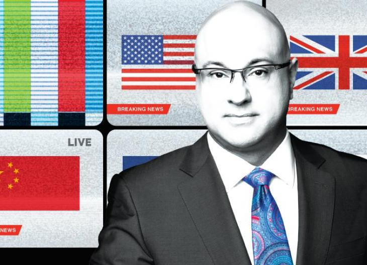 """Ali Velshi to present on """"The Weaponization of Culture"""", May 16, 2018, Vancouver, BC"""