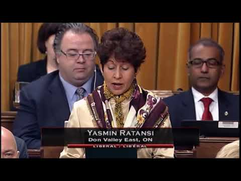 Canadian Member of Parliament, Yasmin Rattansi congratulates His Highness the Aga Khan on Diamond Jubilee